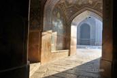 Interior mesquita d'Isfahan