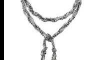Adrienne Mixed Chain Lariat  $45