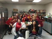Serving on Thanksgiving Day with MHA