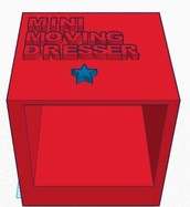 Mini Moving Dresser, or MMD