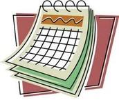 My Schedule: