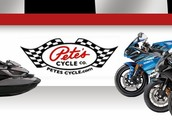 Pete's Cycles of Maryland Set to hold the new 2014 Yamaha VX Sequence Waverunners