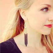 Lillith Fringe Earrings
