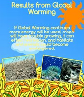 Results from Global Warming