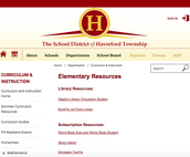 Favorite the Library Resource Page