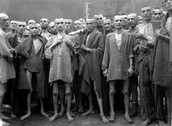Starving Prisoners in Mauthausen