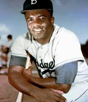 This is Jackie Robinson