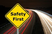 How can I create a presentation that will show people how to drive safe ?
