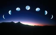 Phases of the moon!