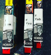Genre Stickers