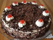 Un Gâteau de La Forêt Noire-A Black Forest Cake