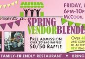 Spring Vendor Blender @ The Pub