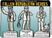 Political party heroes