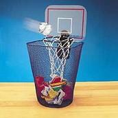 Basketbal prullenbak