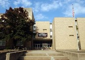 This is Meyzeek Middle School.