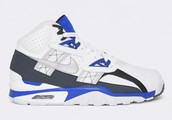 1. NIKEAIR TRAINER SC HIGH WHITE BLUE
