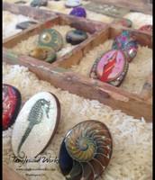 Handmade Rings on Salvaged Wood: $36-$45