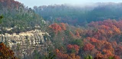 A side view of the Cumberland Plateau