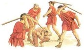 Here are some Roman punishments
