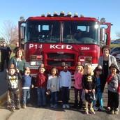 P.M. Firefighter Visit