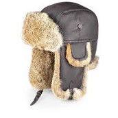 Our shop sells the best fur hats in town!