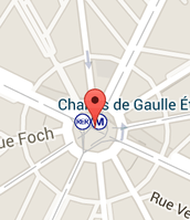 Where to find the Arc de Triomphe