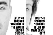 Every 41 seconds someone is left to make sense of why a loved one committed suicide.
