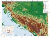 Physical characteristics of the Dinaric alps