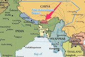 Location - South Asia