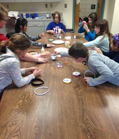 Making Headbands with Mrs. Kamens!