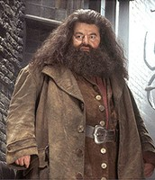 Hagrid: GAME KEEPER AND KEEPER OF KEYS