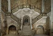 Cathedral de Burgos Staircase