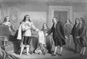 King Charles II and William Penn