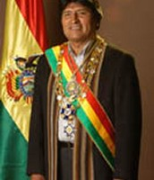 The president of Bolivia