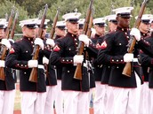 marine corps drill team
