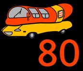 Wienermobile is 80!