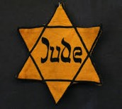 A picture of the Star of David witch is what all the Jews were marked with.