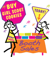 Cookie Booth Sales & Orders