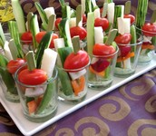 refreshing Crudites