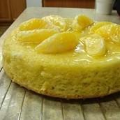 Orange sponge cake(Sponge or foam cake)