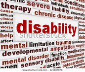 What is a definition of a disability?