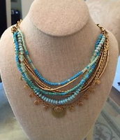 Isa Disc Necklace (3 ways to wear) $59