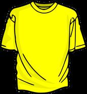 Yellow Team Shirts