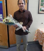 High School Teacher Assistant of the Year, Steve Mayberry