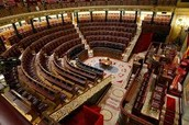 A organizacion politica actual de España.