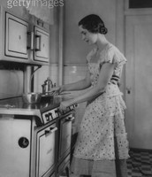 Women Being Housewives: