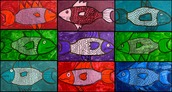 131. Mono-chromatic Fish