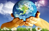 We have earth in our hands