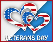 Veterans Day Celebration @ GES Friday, November 11th