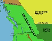 1827 - US and UK occupy Oregon